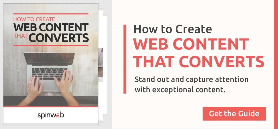Create Web Content That Converts